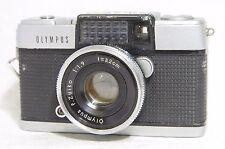 Olympus PEN D Half Frame Film Camera SN397170 w/F.Zuiko 3.2cm F/1.9 Lens