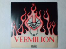 """VERMILION Angry young women 7"""" UK"""