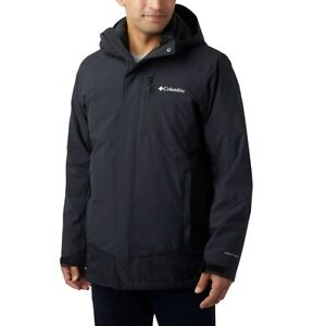 New Mens Columbia Lhotse III 3in1 Interchange Omni-Heat/Tech Winter Jacket Coat