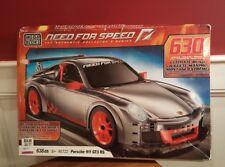 1 Set MEGA BLOKS NEED FOR SPEED BUILDING SET PORSCHE 911 GT3 RS *NEW*DAMAGED BOX