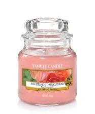 YANKEE CANDLE candela profumata giara piccola Sun Drenched apricot rose