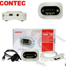 Promotion CMS-VE Visual Stethoscope Heart/Lung Sound HR+SpO2 Probe Sensor CONTEC