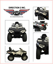 POLARIS Sportman 570 EPS EFI SP / ETX Overfenders by DIRECTION 2 - OFSPL9000