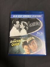 Like New Casablanca / The African Queen - 2013 - 2-Disc Blu-ray Set