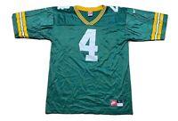 Vintage Nike Brett Favre Green Bay Packers NFL Green Football Jersey Sz L