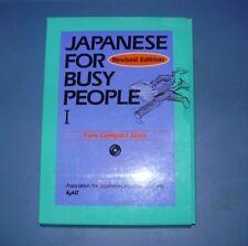 Japanese for Busy People: Japanese for Busy People Vol. I -  Sealed/mint Discs