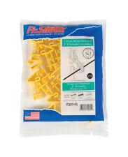 Fi-Shock Electric T-Post Extension Insulator 25 pk Yellow