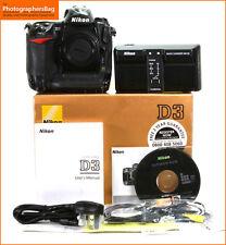 Nikon D3 Fotocamera Digitale Reflex Body Charger & Battery + GRATIS UK