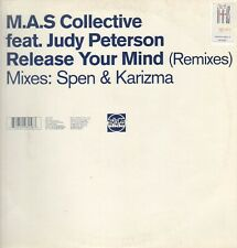 M.A.S. Collective ‎– Release Your Mind (Remixes) - Feat Judy Peterson  SLIP 125X