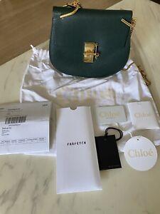 Chloe Drew Shoulder Bag - Green