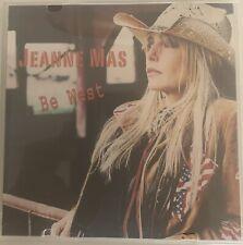 Rare CD single Jeanne Mas « Be West » 2 Titres