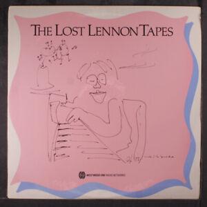 "JOHN LENNON: the lost lennon tapes 8/29/88 WESTWOOD 1 12"" LP"