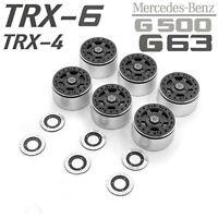 Metal Lock Tire Beadlock Wheel for TRAXXAS TRX4 TRX6 Mercedes-Benz G63 G500 RC
