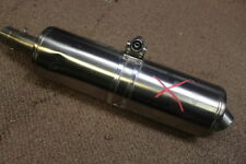 2010 Bmw F650gs Oem Exhaust Pipe Muffler Slip On Can Silencer TWIN #W2