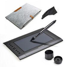 Huion H610 Graphics Tablet+Glove+Bag for Photoshop Painter SAI+Digital Pen