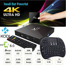 X96 S905X KODI16.1 Quad Core Android 6.0 Smart TV Box Media Player Movie Sports