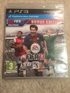 PS3 Fifa 13 Bonus Edition Game- New and Sealed-CHEAPEST EBAY?