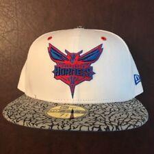 Charlotte Hornets New Era NBA Solid Team 59FIFTY Cap Hat NWT 7 3/8