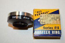 Vintage Tiffin Camera Lens Adapter Ring 516 w/ Box Series #5 Rare