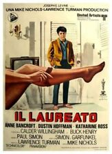 The Graduate (Italian) Il Laureato 1967 Dustin Hoffman 12x18 Movie Poster Print