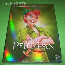PETER PAN CLASICO DISNEY 14 - DVD NUEVO Y PRECINTADO SLIPCOVER