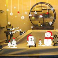 Snowflake Merry Christmas Xmas wall sticker Decals Window decor Decorations