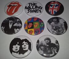 8 Stones Badges Keith Richards Goats Head Soup Rock and Roll Gimmie Shelter