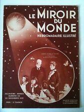 Miroir du Monde 26/12/1931   Arbre de noel de l'Elysée