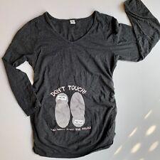 Twin Pregnancy Maternity Ninja Shirt M