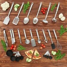 23 Piece and Gadget Kitchen Utensil Set Stainless Steel By Maxi Chef