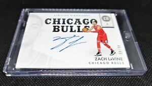 Zach Lavine Encased  Autograph  # 46/49 Chicago Bulls  On Card 🔥 NBA  Auto