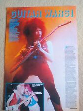 VINNIE VINCENT INVASION (KISS) Centerfold magazine POSTER  17x11""