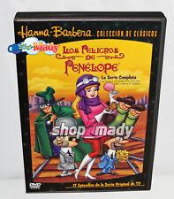 Los Peligros de Penelope Serie Completa DVD en Español Latino Región 1 y 4 GOOD!