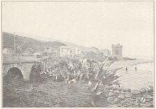 G0539 France - Miomo - Prés de Bastia - Stampa d'epoca - 1923 Old print