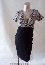 Cotton Blend Short Sleeve Wiggle, Pencil Maternity Dresses