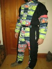 MAMBO Vintage 1980 Mens Ski Suit, Size US Large Rare