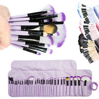 32Pcs Makeup Brushes Set Eyeshadow Lip Powder Concealer Blusher Cosmetics Tool