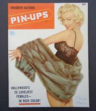 Marilyn Monroe issue/Modern Screen Pin-Ups'55 & Screen Annual'53 INV2504