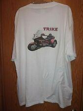 Goldwing Trike white 2XL t shirt