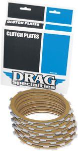 Drag Specialties Friction Plate Kit for 98-17 Harley Dyna Touring Softail