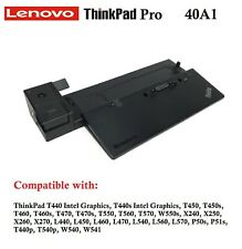 Lenovo ThinkPad T440s Intel Graphics T450s Pro Docking Station NO PSU OR KEYS