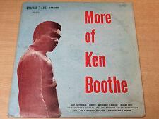 Ken Boothe/More On/1969 Studio One LP/Rare Reggae