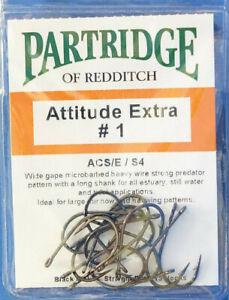 Partridge ATTITUDE EXTRA #1 ACS/E/S4 black nickel 15 Haken Gr. #1