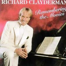 New: RICHARD CLAYDERMAN - Remembering the Movies (piano) CD