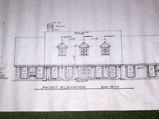 Custom Home Plan 2767 A/C Sq. Ft 1 Story 3 Bed Study Formal 2 1/2 Baths 2 Car G