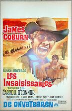 Affiche L'OR DES PISTOLEROS Waterhole 3 JAMES COBURN AFF. Belge 1967