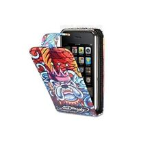 Unique BRITISH BULL DOG BLING Leather Flip Case Cover iPhone 4 4G 4TH GEN / GIFT