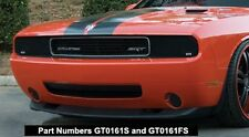 GT STYLING 2008-2014 DODGE CHALLENGER HEADLIGHT COVERS - SMOKE ( SET OF 2 )