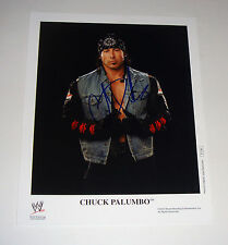 Wwe Wrestler Chuck Palumbo Signed Autographed 8x10 Photo Coa Free Shipping