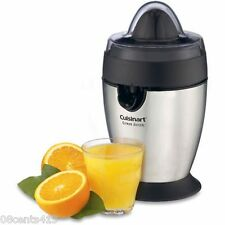 Cuisinart AC Power Brushed Stainless Steel CCJ-100 Auto-Reversing Citrus Juicer